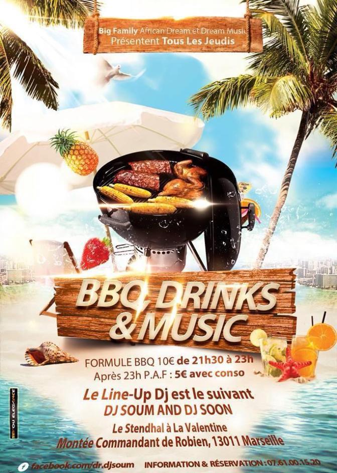 bbq drink & music